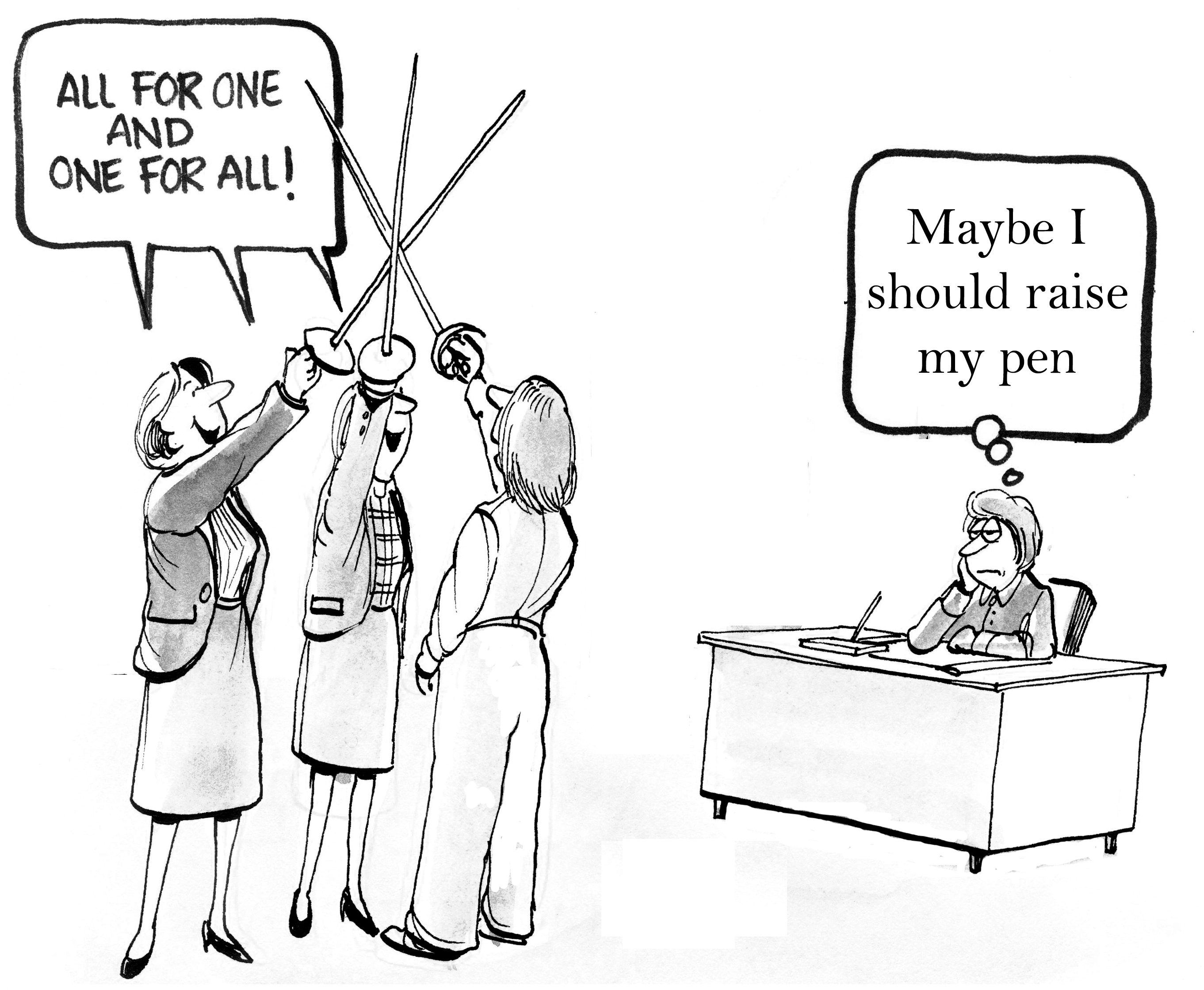 my dream we just hire the best person for the job just the best person for the job cartoon women 124544926